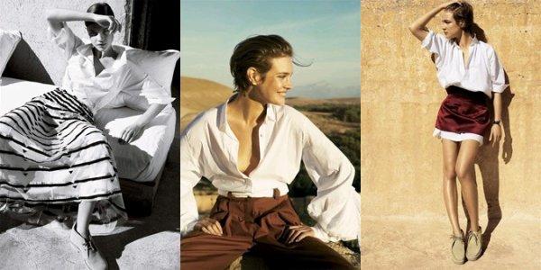 Souvenez-vous: Vogue US Mars 2007 (White Russian) par Mario Testino