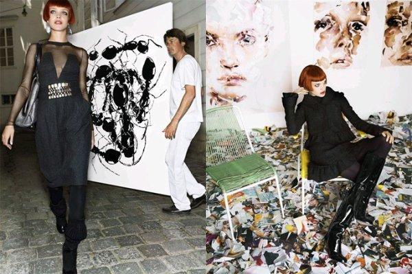 Souvenez-vous: Vogue US Septembre 2006 (The Last Waltz) par Mario Testino