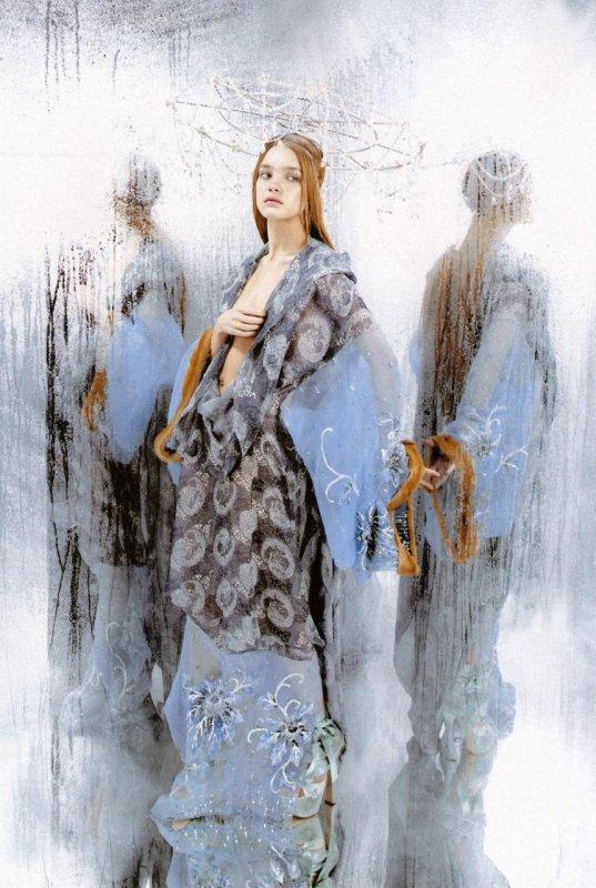 Souvenez-vous: Numéro Mai 2003 (Vertical Water) par Karl Lagerfeld