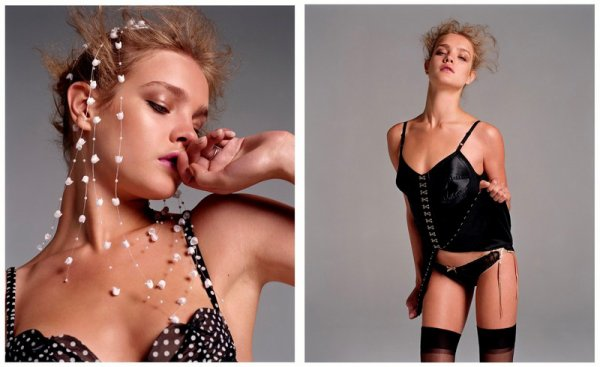 Souvenez-vous: Vogue Paris Octobre 2003 (Au charme et Cetera) par Inez van Lambsweerde & Vinoodh Matadin