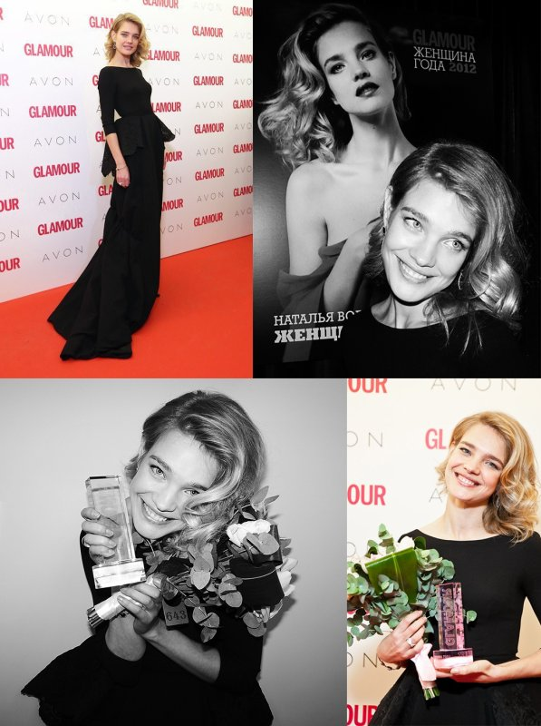 Apparition: Glamour Russe Women of the Year : Novembre 2012 ; Divers: Naked Heart Boutique ; Apparition: Naked Heart Boutique : Décembre 2012 ; Vidéo: Stuart Weitzman F/W 2012 Behind the scene