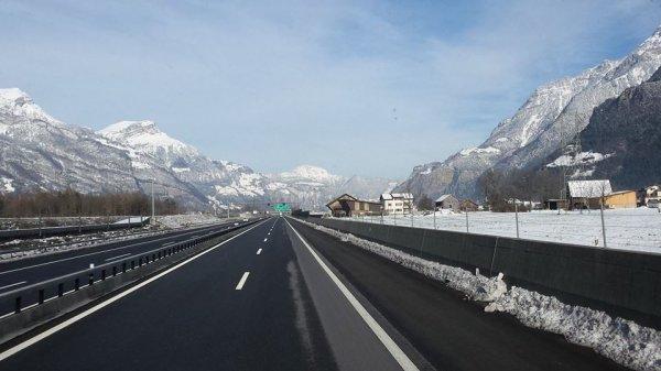Me voilà sur les routes de Suisse :)