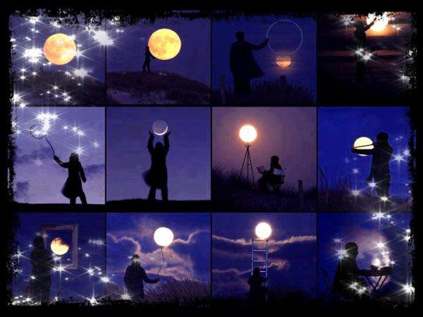 Ne me décroche pas la lune ...