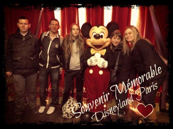 Souvenir D'une Journée Disneyland Paris ❤