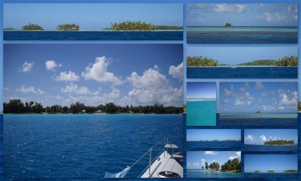 Les couleurs de la Polynésie