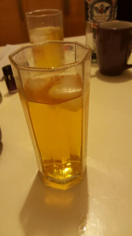 Un bon verre de vodka