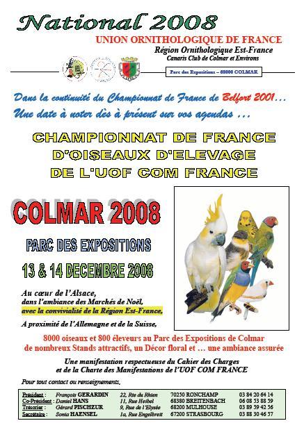 Championnat de France UOF 2008 Colmar