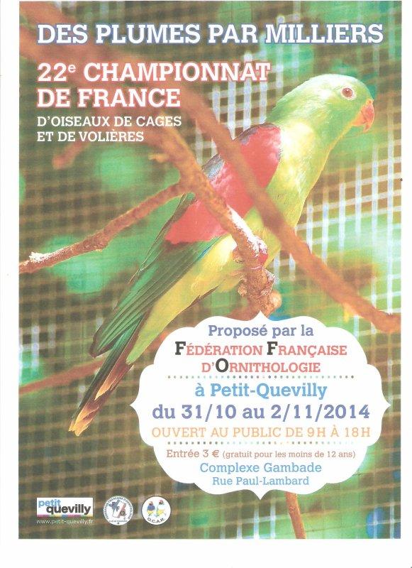 Championnat France F.F.O 2014