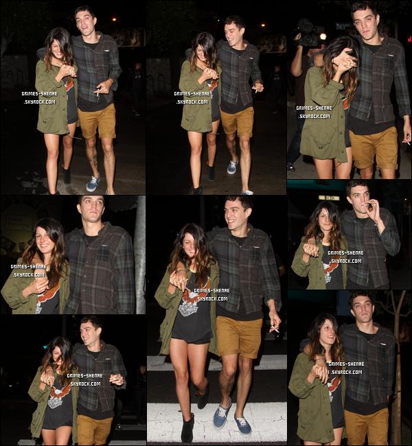 16.10.2012 : Shenae  et son petit ami, Josh ont été vu quittant le  Bar Marmont dans Hollywood.