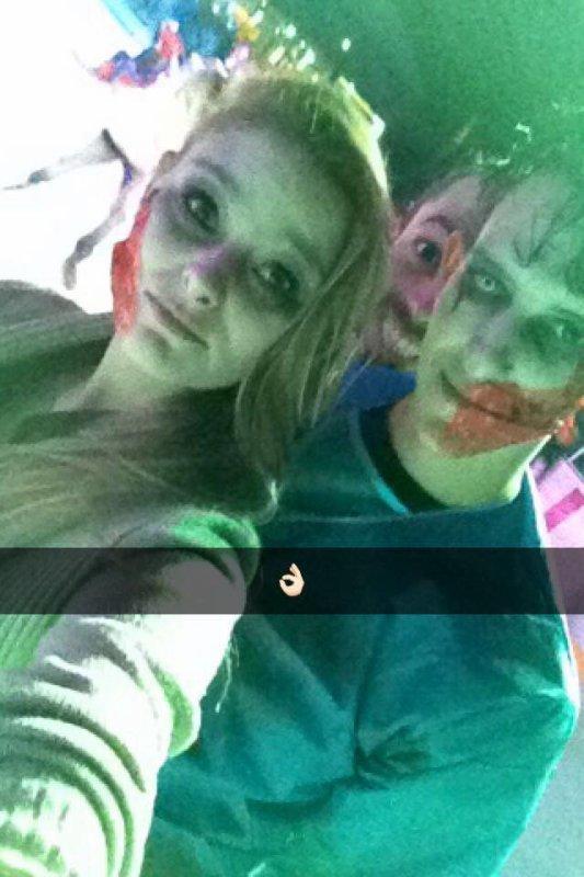 Halloween avec eux 👌🏻😘