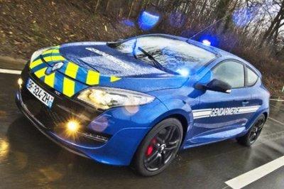 Vehicules de la Gendarmerie