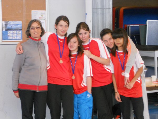 Compétition de volley départementale...