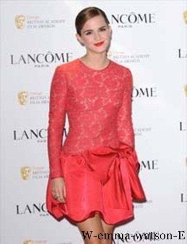 Emma est l'hôte de Lancôme pré-BAFTA Party at the Savoy
