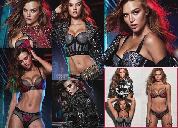-  • •  Josephine Skriver pour la collection capsule de Victoria's Secret x Balmain ! -