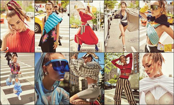 • •  Miss Josephine Skriver pour le magazine Harper's Bazaar Turkey : June 2017 !