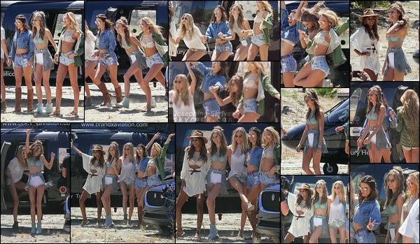 - 14.04.17 — Josephine et d'autres anges au festival Coachella pour un événement Victoria's Secret. Coachella day 1 | Les filles ont été vu arrivant/ posant pour l'équipe VS. - J'aime énormément le look de Josephine pour l'évent !   -