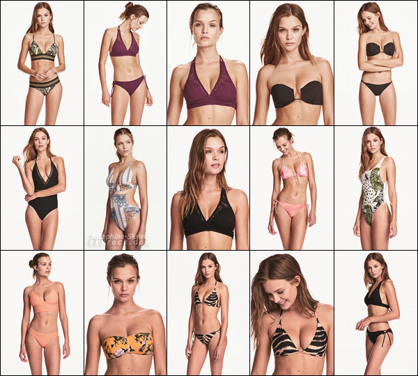 -  • •  Josephine Skriver pour la nouvelle collection de la marque H&M ! -barre de défilement disponible-  -