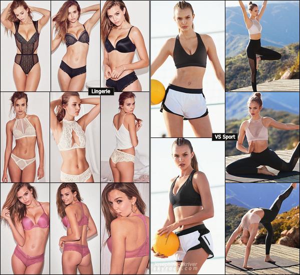 -  • • De nouvelles photos provenant de photoshoots de Jo pour la marque Victoria's Secret ! -