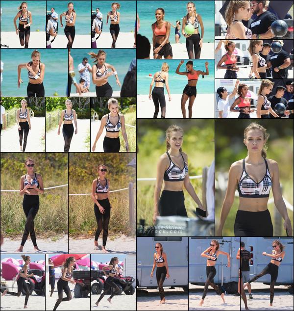 - 25.04.17 — Josephine a été repérer sur une plage de Miami, durant un shoot pour Victoria's Secret. Après une semaine de repos post-coachella, retour au boulot pour Josephine et nos anges qu'on retrouve sur leurs plage habituelle de Miami. -