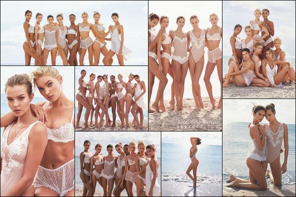 -   • •-  Nouveaux clichés de Jo pour le shoot de Victoria's Secret réaliser en mars !  -