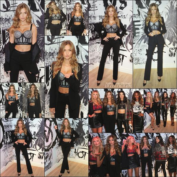 - 28.11.17 — Josephine a assister à l'ouverture de la boutique pop-up pour la collection Balmain x Victoria's Secret. -