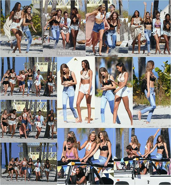 - 03.02.17 — Josephine et d'autres anges sont a Miami pour un shoot promo Victoria's Secret. On retrouve jojo le lendemain, au même endroit, mais avec plus d'anges !  - Le shoot a l'air fun, hâte de voir les photos !    -