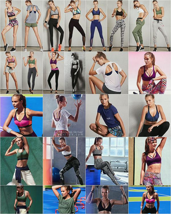 -  • •  Josephine Skriver  pour Victoria Sport - une barre de défilement est disponible pour plus de clichés-  -