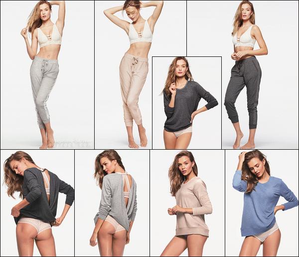 • • Nouveaux clichés de Josephine pour le shoot Victoria's Secret : sleepwear !