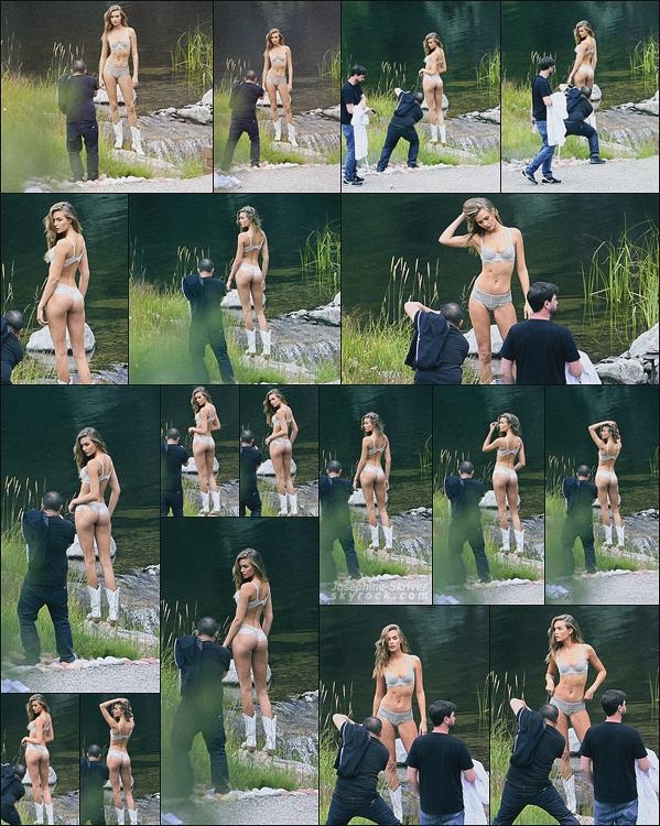 - 12.08.17 — Melle. Josephine Skriver a été vu sur un shoot Victoria's Secret a Aspen dans le Colorado. On a donc droit a plus de sneak peek de la campagne publicitaire de VS deux jours après, Josephine est magnifique dessus, trop hâte !  -