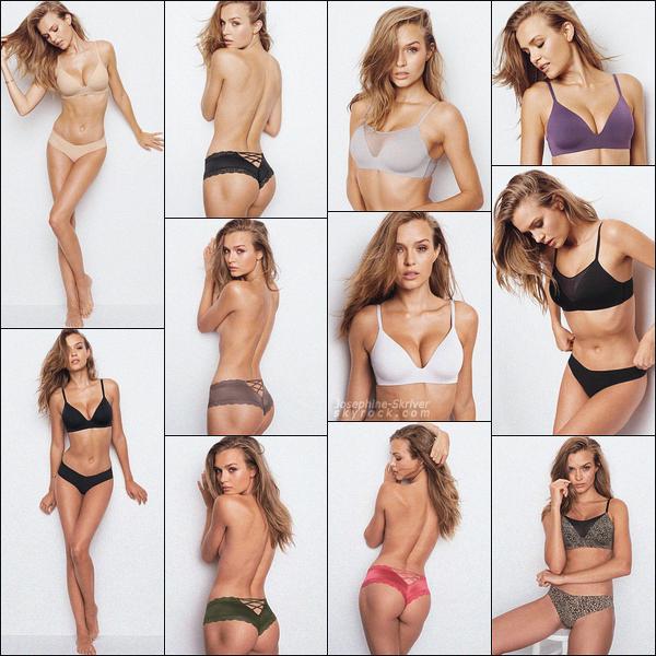 -  • •- Nouveaux clichés de Josephine pour le shoot Victoria's Secret : lingerie ! -