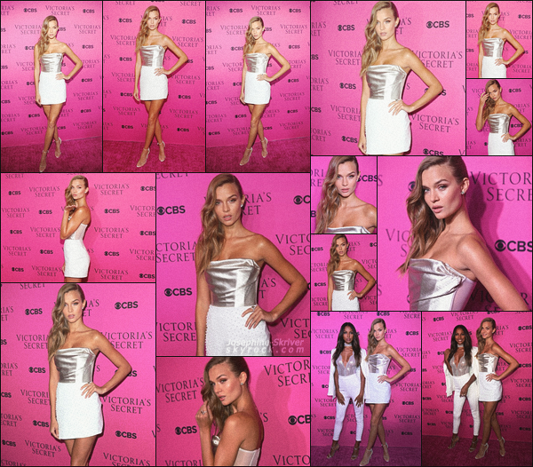 - 28.11.17 — On retrouve Jo le soir même a la viewing party du Victoria's Secret Fashion Show à New York.  -