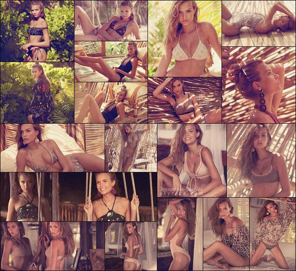 -  • •-  Photoshoot de notre belle blonde pour la marque swimwear: Agua Bendita ! -