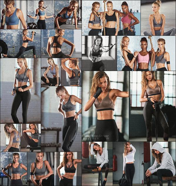 -  • • De nouvelles photos provenant d'un shoot de Josephine pour Victoria's Sport ! -
