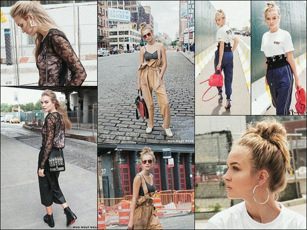 -  • •- La belle Josephine Skriver a posé pour le site internet Who What Wear : Love ! -