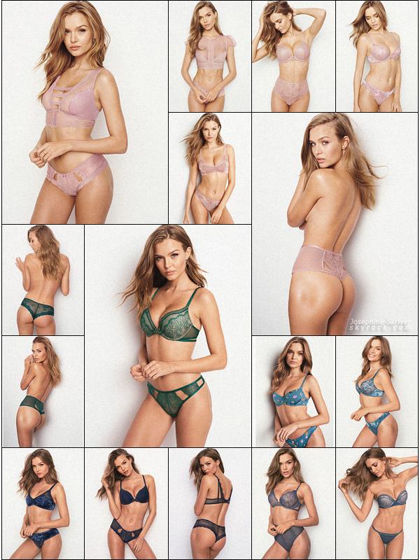 -  • • De nouvelles photos provenant de photoshoots de Jo pour Victoria's Secret ! -