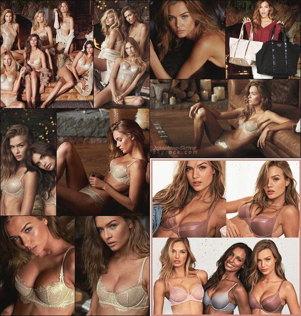 -  • • Découvrez le shoot de la campagne de fin d'année de Jo pour Victoria's Secret ! -