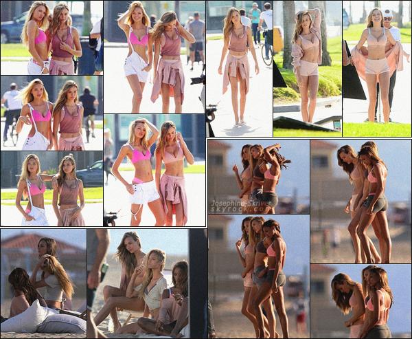 - 07.11.17 — Jo, Romee S. ainsi que Jasmine T. ont encore une fois posé pour Victoria's Secret  à LA. Avant dernier shooting de la belle avant de rentrer à New York pour se préparer au VSFS. Le shoot a l'air fun et cute, top pour Jo.    -