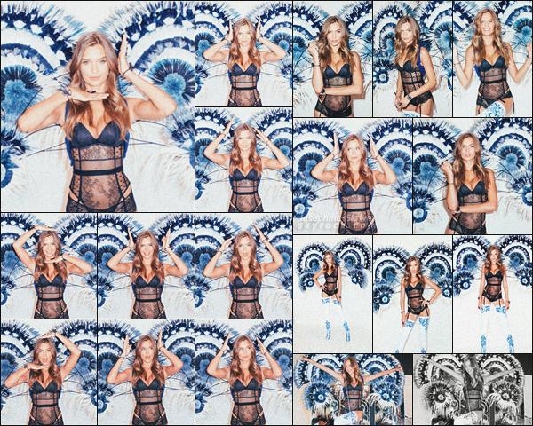 - - Victoria's Secret Fashion Show - ''—'' Découvrez un mini photoshoot de de Jo lors des Fittings. J. nous montre encore une fois qu'on peut être sexy et cute en même temps ! On constate de légères modifications dans sa tenue, love !  -