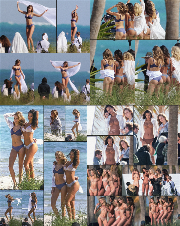 - 18.01.18 — Josephine, toujours à Miami a été encore vu sur la belle plage de Floride posant pour VS.  C'est en compagnie de quartes autres bombshell qu'on retrouve Josephine. Le shooting a l'air sexy, hâte de voir le shoot, des avis ?    -