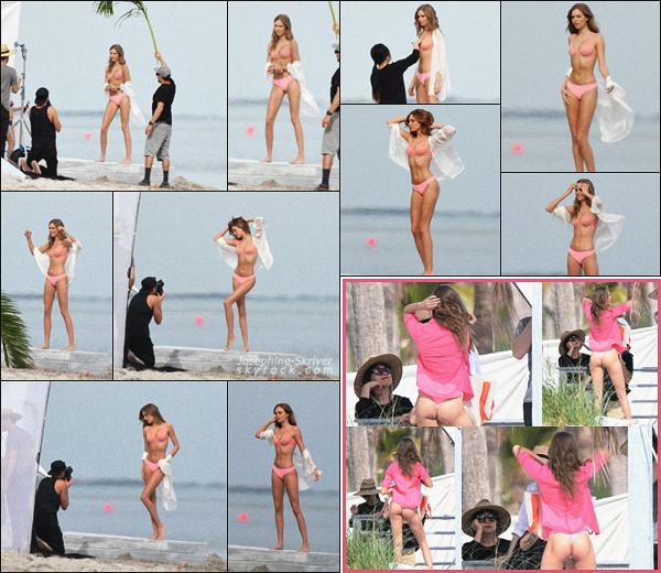 - 17.01.18 — Jo Skriver a été vu à Miami, avec l'équipe Victoria's Secret lors d'un shoot pour la marque.  Premier candid de l'année ! On retrouve Jo comme à son habitude en train de poser pour VS - Jo a un corps de rêve, hate de voir le rendu.    -
