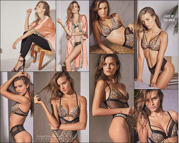 -  • •-Nouveau photoshoot de Josephine pour la nouvelle campagne deVS : Lingerie ! -