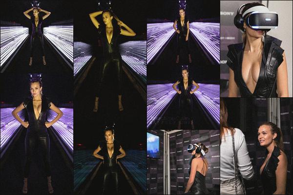 """- 15.03.18 — Josephine Skriver était invité au stand """"Odessy"""" de SONY #LostInMusic à Austin au Texas. Etant présente au festival SXSW, Jo en as profité pour faire sa petite geektout en nous faisant partager l'expérience sur son Instagram, bof sa tenue.  -"""