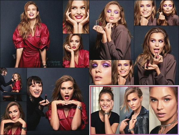 -  • •- First look de la nouvelle campagne de Maybelline dont Jo est la nouvelle égérie ! -