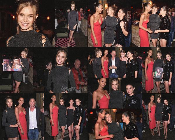 - 31.05.18 — Josephine était présente à New York à l'occasion du lancement du livre Backstage Secrets.  L'équipe de Victoria's Secret s'est réunis pour le temps d'une soirée afin de célébré le lancement du livre de Russell James, retraçant les meilleurs moment durant les VSFS. -