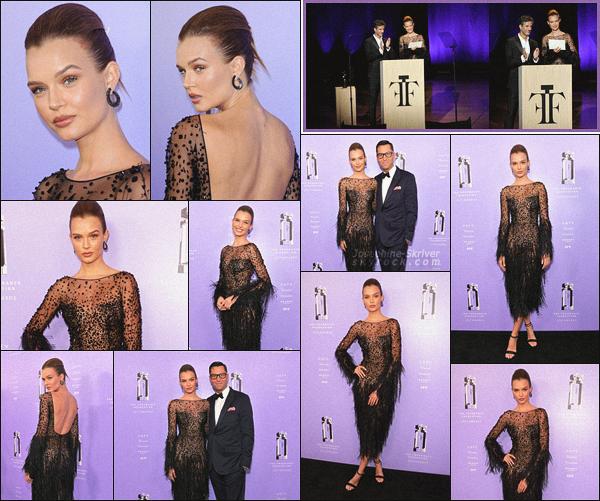 - 12.06.18 — Josephine Skriver était présente lors des « Fragrance Foundation Awards » à New York. Josephine était accompagnée de Greg Unis, le directeur général de Victoria's Secret Beauty, pour une petite promo des parfums VS. Love le look ! -