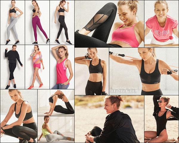 -  • • Découvrez de nouvelles photos issues de shoot de Jo pour VS : Lingerie & Sport  ! -