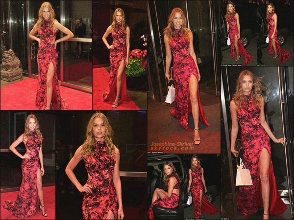 - 07.04.16 — Josephine S. a assisté au New Yorkers for Children's Spring Dinner Dance à New York. Je trouve que Jo était absolument sublime dans sa robe rouge. Un peu plus tard, la miss a été photographier quittant la soirée, c'est un beau top ! -