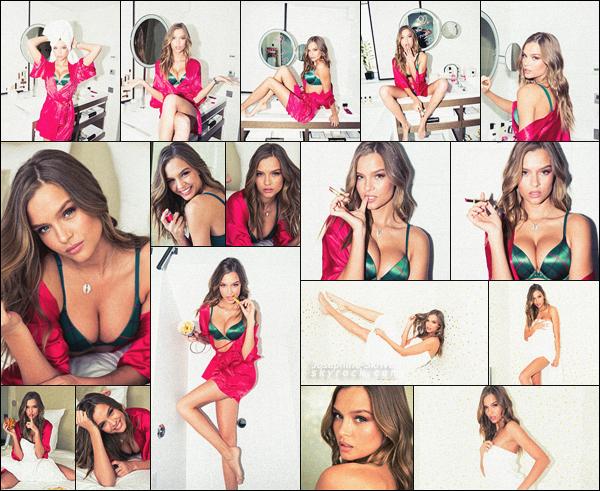 -  • • -Découvrez le shoot très sexy de Josephine Skriver pour le magazine Coveteur ! -