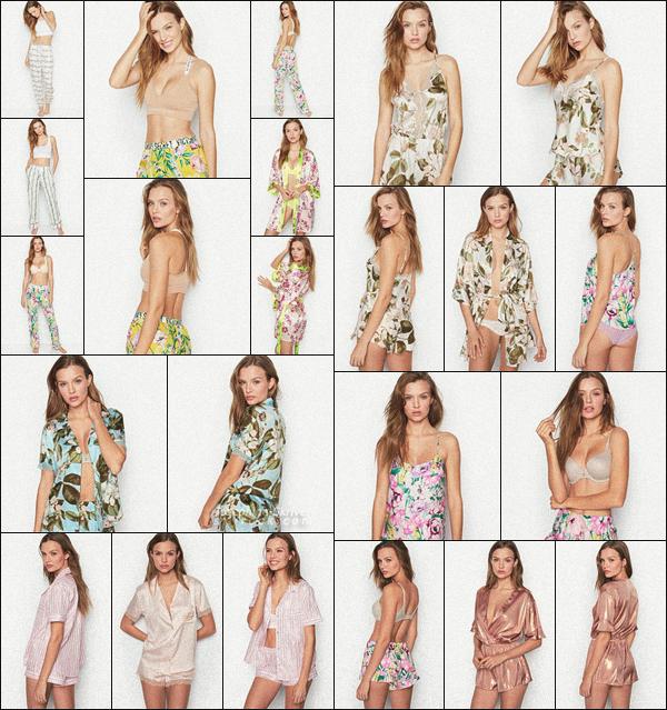 -  • •-Josephine pour la nouvelle collection Victoria's Secret : Sleepwear – Mars 2019 ! -