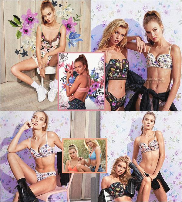 -  • •-La sexy Josephine Skriver pose pour la nouvelle collection de Victoria's Secret  !  -